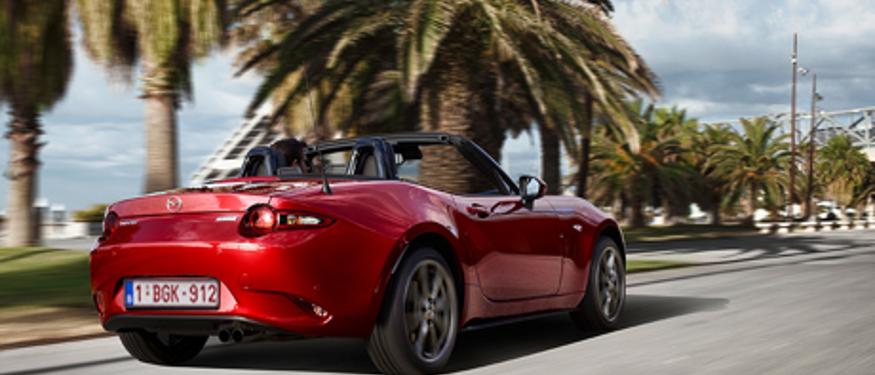 Rijden voelt als reizen aan boord van de Mazda MX-5